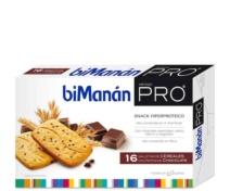 bimanan pro 16 galletas de chocolate