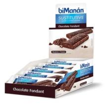 biManán BARRITA CHOCOLATE FONDANT 24 Unidades
