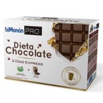 bimanan pro dieta chocolate 3 dias expres