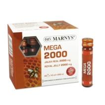 Marnys Jalea Real Mega 2000 mg 20 viales
