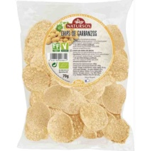 Natursoy Chips de garbanzos. 70g