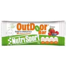 Nutrisport Barrita Outdoor Red Berries x20