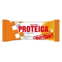 Nutrisport Barrita Proteica Naranja x24