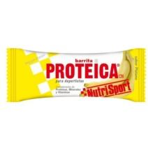 Nutrisport Barrita Proteica Plátano x24