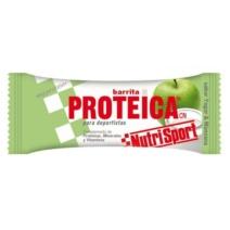 Nutrisport Barrita Proteica Yogurt y Manzana x24