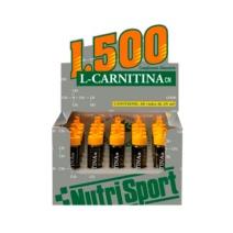 Nutrisport L Carnitina 1500 viales fresa