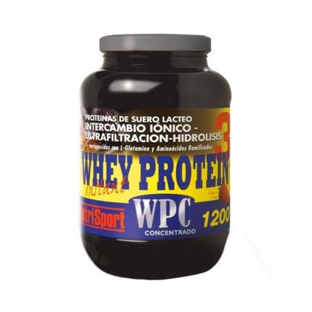 a587f6b59 Nutrisport Whey Protein 3 (WPC) Fresa 1200 gr.