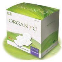 Compresa de Noche con Alas 100% Algodón Orgánico - Organyc
