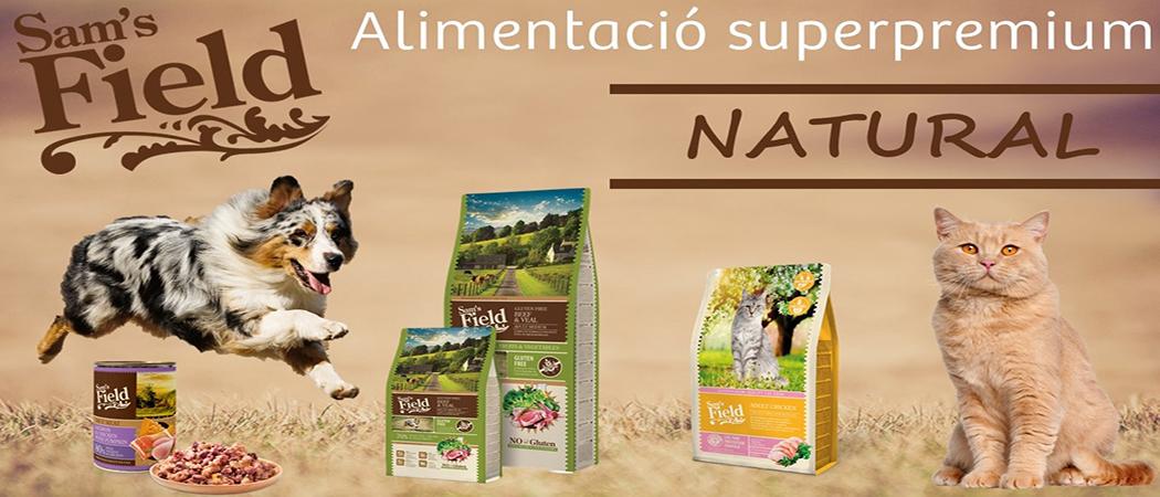Sam's Field Aliment natural per gats i gossos