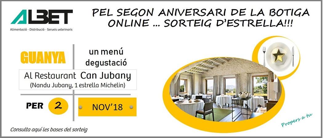 Segon aniversari Botiga Online!
