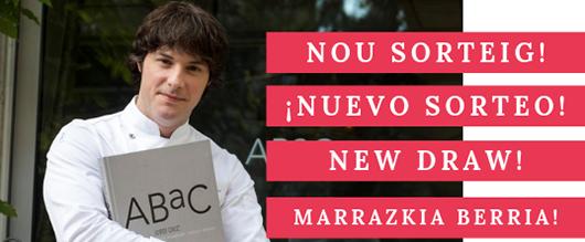 Nou sorteig d'Albet, et convidem a l'ABAC, el restaurant d'en Jordi Cruz