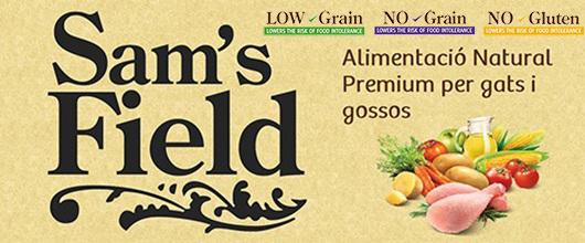 Sam's Field - Alimentació natural suprepremium per gossos i gats