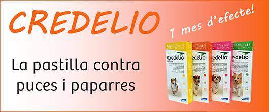 Credelio - Antiparasitari en pastilles per gossos, contra puces i paparres