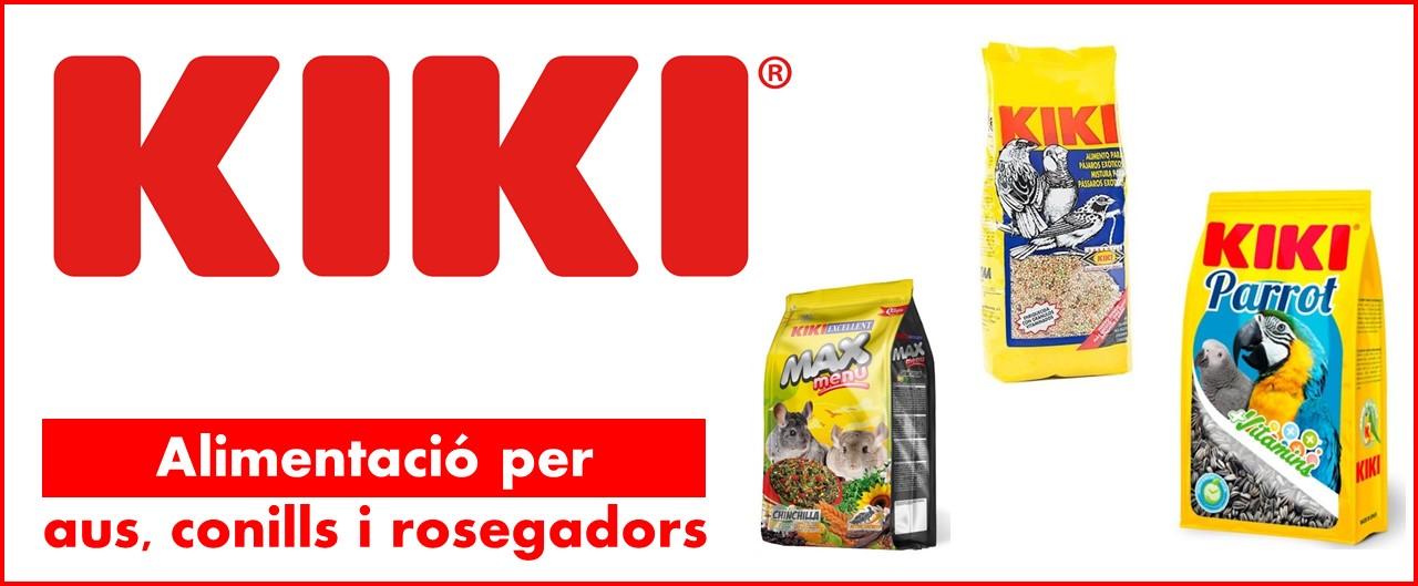 Kiki, aliment per aus, conills i rosegadors