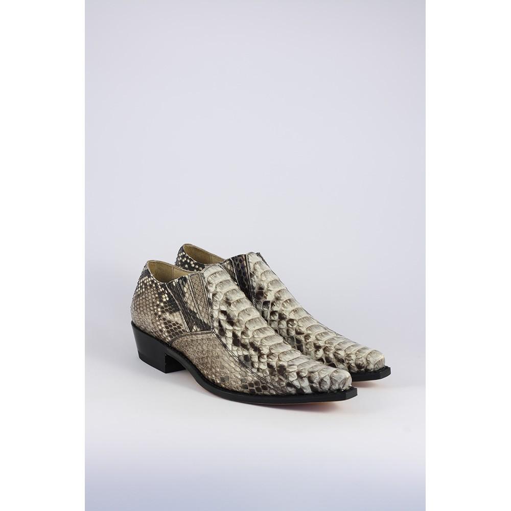 Zapatos Sendra para hombre en piel de serpiente 4133 -