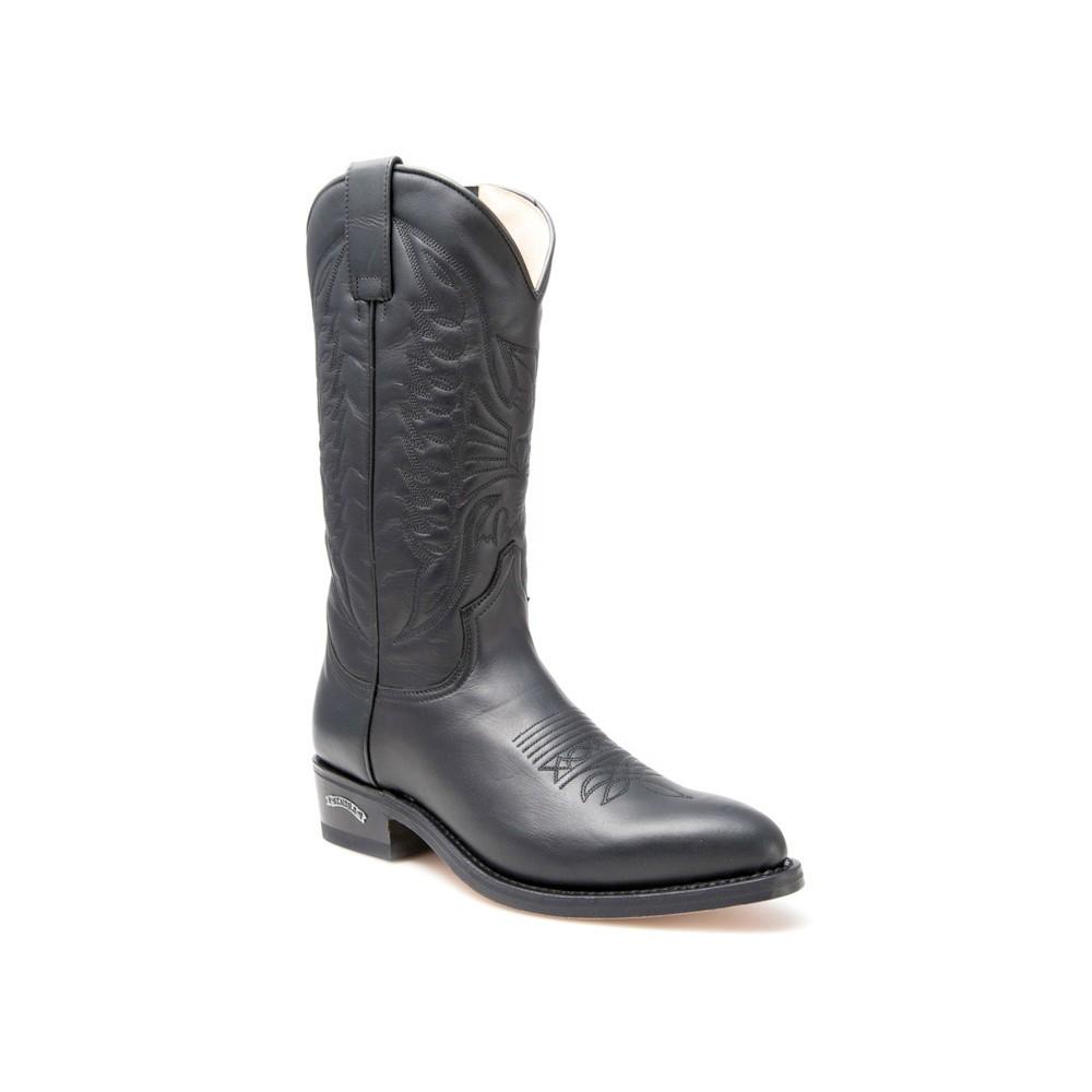 Compra en Noel Western Boots estas Botas Sendra Western para hombre de Cuero Negromodelo 4012 envíos gratis a península 796 -