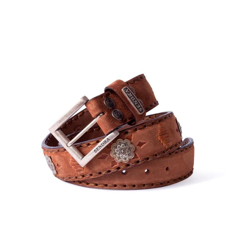 cinturon-sendra-cuero-natural-chapa-metalica-8277-noel-western-boots-55841 - __[GALLERYITEM]__