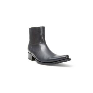 Compra en Noel Western Boots estos Botines Sendra Western para hombre de cuero negro modelo 5200 con envíos gratis a la península 10016
