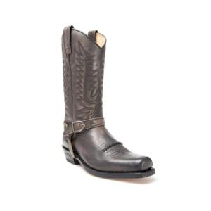 Compra en Noel Western Boots estas Botas Sendra Biker para hombre de cuero marrón con hebilla modelo 5475 con envíos gratis a la península 13134