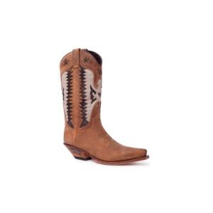 Compra en Noel Western Boots estas Botas Sendra 14144 Western para mujer en tonos marrones con envíos gratis a la península 13819