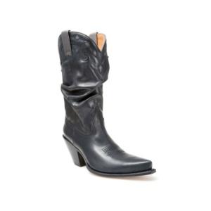 Compra en Noel Western Boots estas Botas Sendra Moda para mujer de cuero negro modelo 6561 con envíos gratis a la península 2090
