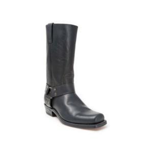 Compra en Noel Western Boots estas Botas Sendra Biker para hombre de cuero negro con arnés fijo modelo 1918 con envíos gratis a la península 2509