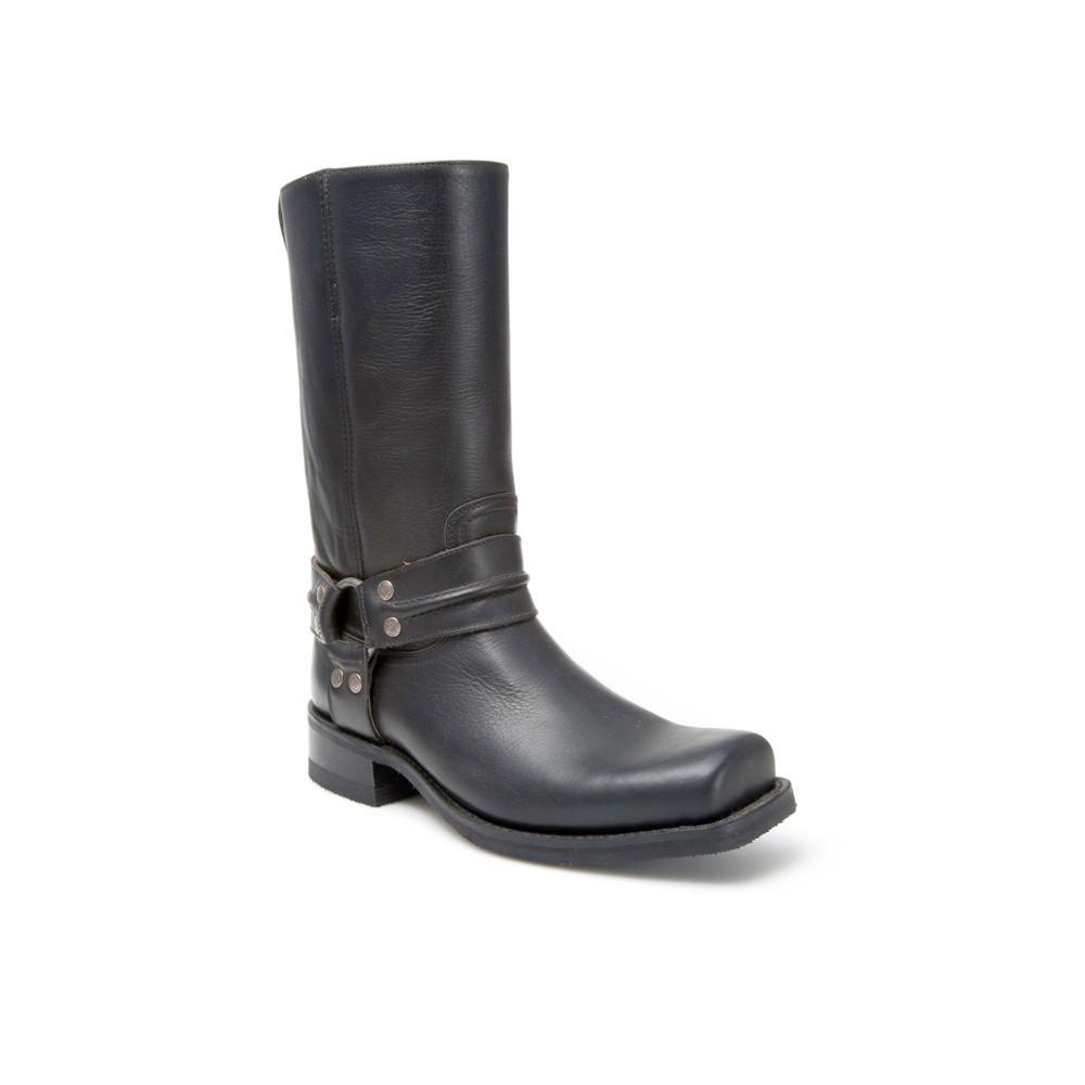 Compra en Noel Western Boots estas Botas Sendra Biker para hombre de cuero negro con arnés modelo 7068 con envíos gratis a la península 26122 -