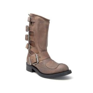 Compra en Noel Western Boots estas botas Sendra Biker para hombre de Cuero marrón con hebillas del modelo 3790 con envíos gratis a la península 818
