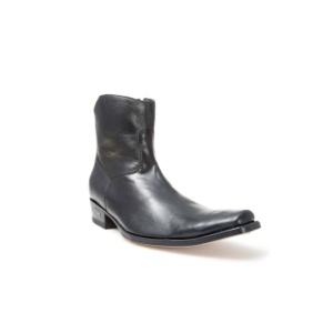 Compra en Noel Western Boots estos Botines Sendra Western para hombre de cuero negro con cremallera modelo 7438 con envíos gratis a la península 29907