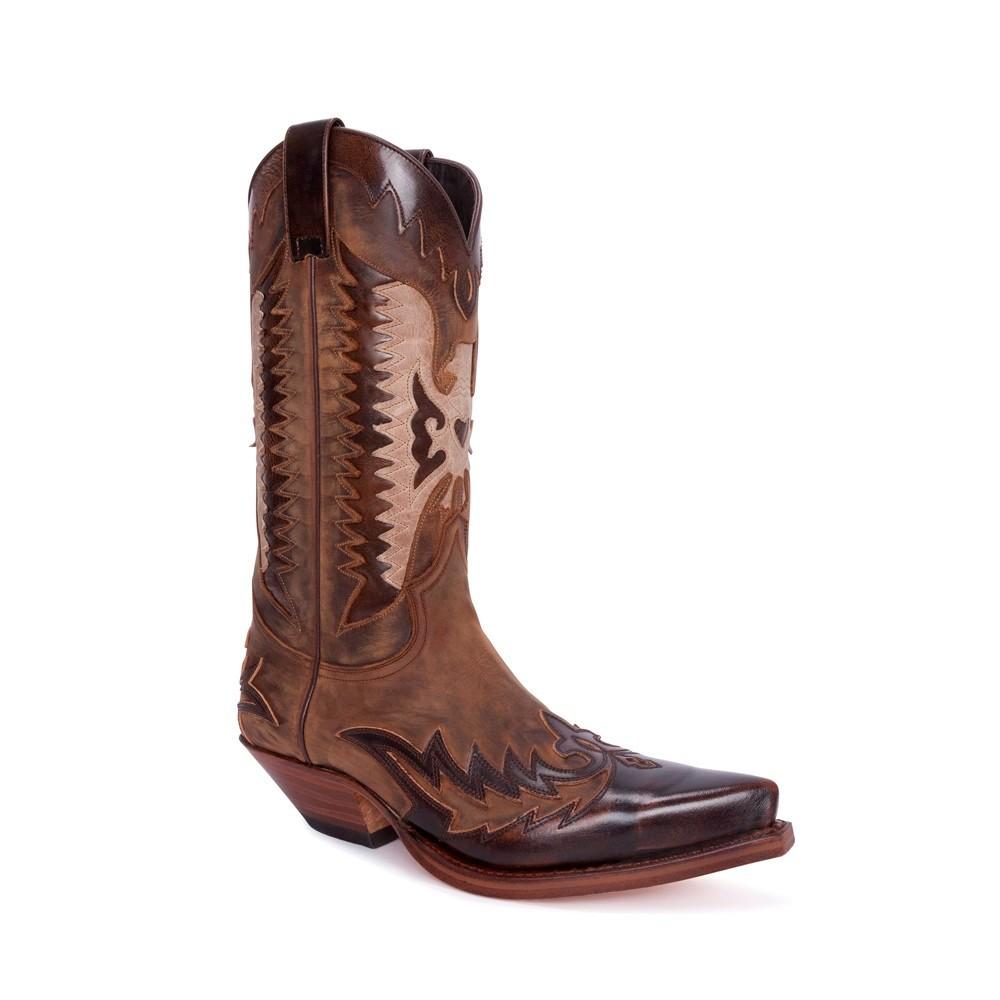 Compra en Noel Western Boots estas Botas Sendra 13040 Western para hombre en tonos marrones con envíos gratis a la península 31001 -