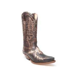 Compra en Noel Western Boots estas Botas Sendra Western para hombre de cuero color marrón y beige del modelo 6821 con envíos gratis a la península clave 31091