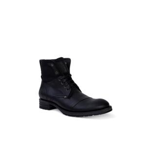 Compra en Noel Western Boots estos Botines Sendra Biker para hombre de cuero negro del modelo 9801 con envíos gratis a la península clave 36389