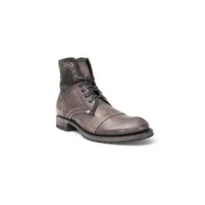 Compra en Noel Western Boots estos Botines Sendra Moda para hombre de cuero y lona gris del modelo 9801 con envíos gratis a la península clave 36797
