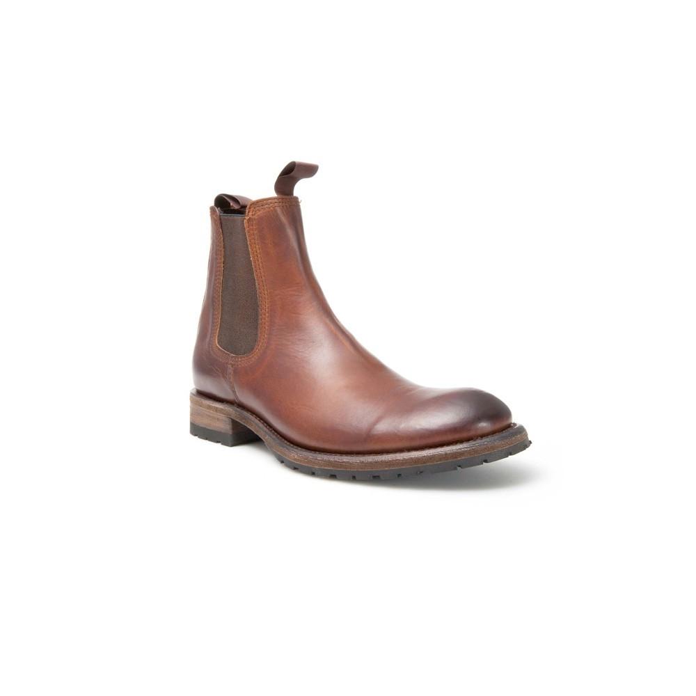 Botín Sendra 14472 Kaspar Moda para hombre en cuero marrón
