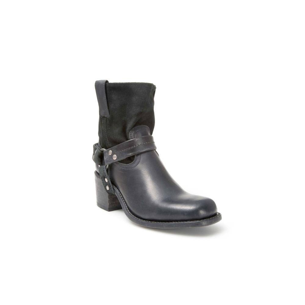 Compra en Noel Western Boots estos Botines Sendra Moda Para mujer de cuero y serraje sin forro negro con arnés del modelo 10591 con envíos gratis a la península clave 41268 -
