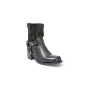 Compra en Noel Western Boots estos Botines Sendra Moda Para mujer de cuero y serraje sin forro negro con arnés del modelo 10591 con envíos gratis a la península clave 41268