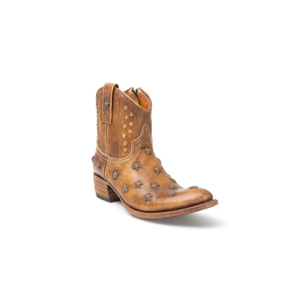 Compra en Noel Western Boots estos Botines Sendra Western para mujer de cuero color camel del modelo 10600 con envíos gratis a la península clave 41271 -