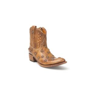 Compra en Noel Western Boots estos Botines Sendra Western para mujer de cuero color camel del modelo 10600 con envíos gratis a la península clave 41271