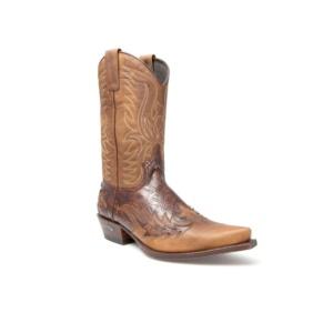 Compra en Noel Western Boots estas Botas Sendra Western para hombre de cuero marrón del modelo 11645 con envíos gratis a la península clave 44374