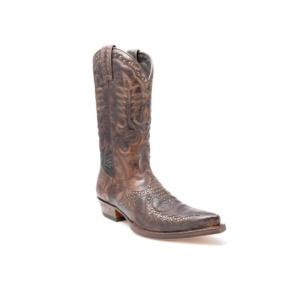 Compra en Noel Western Boots estas Botas Sendra Western para hombre de cuero marrón del modelo 11839 con envíos gratis a la península clave 44375