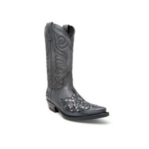 Compra en Noel Western Boots estas Botas Sendra Western para hombre de cuero negro del modelo 11473 con envíos gratis a la península clave 44376
