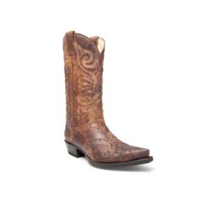 Compra en Noel Western Boots estas Botas Sendra Western para hombre de cuero marrón del modelo 11473 con envíos gratis a la península clave 44377