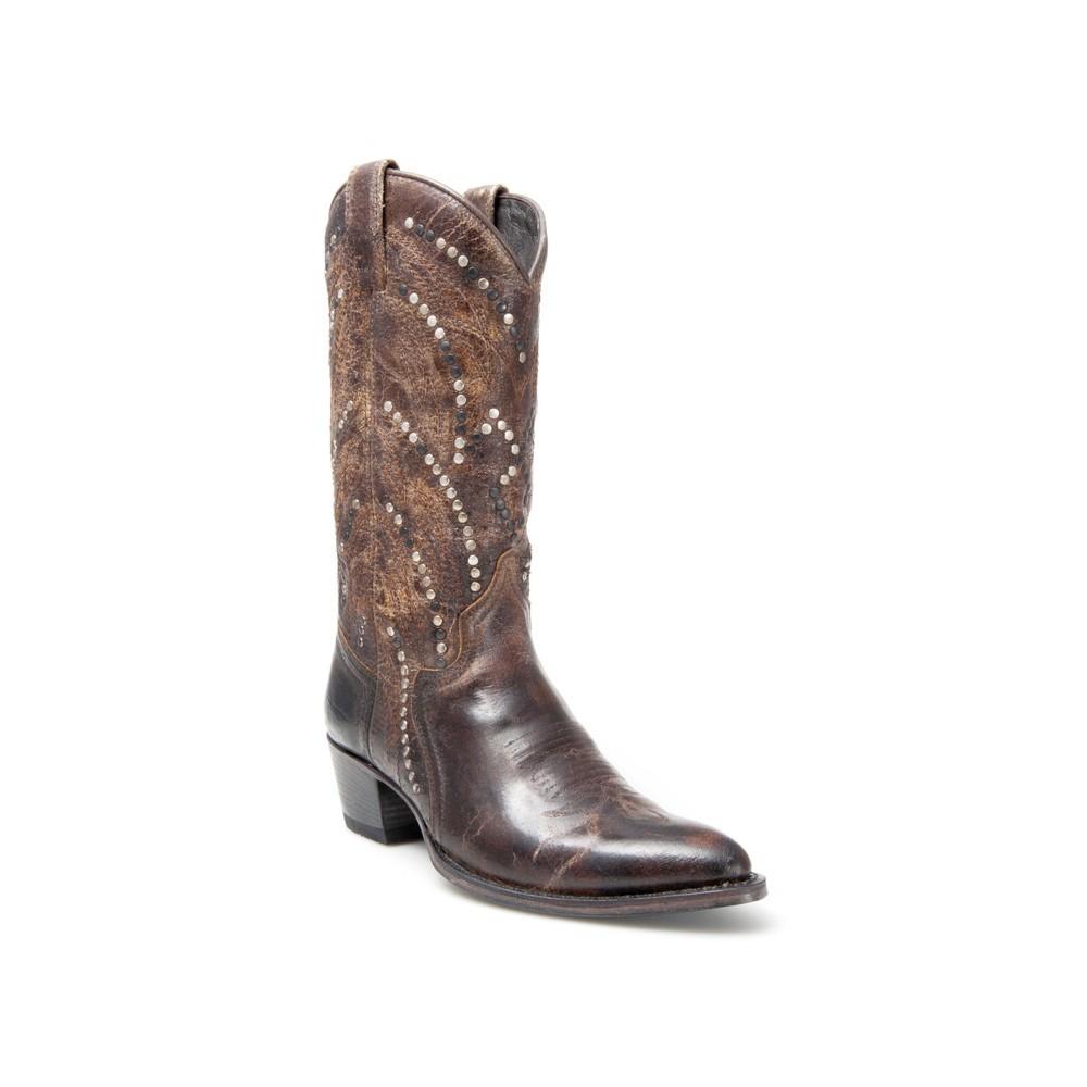 Compra en Noel Western Boots estas Botas Sendra Western para mujer de cuero marrón del modelo 12212 con envíos gratis a la península clave 45295 -