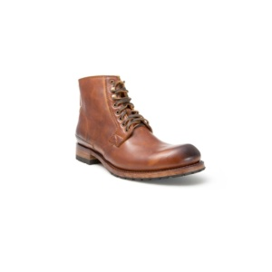Compra en Noel Western Boots estos Botines Sendra Moda cordones para hombre de cuero color camel del modelo 11397 con envíos gratis a la península clave 45299