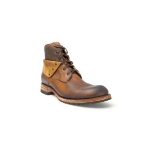 Compra en Noel Western Boots estos Botines Sendra moda cordones para hombre de cuero lijado color camel del modelo 11934 con envíos gratis a la península clave 45300