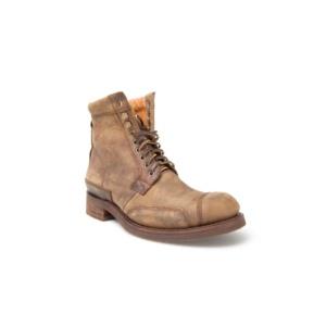 Compra en Noel Western Boots estos Botines Sendra moda cordones para hombre de cuero color camel modelo 10607 con envíos gratis a península clave 45302