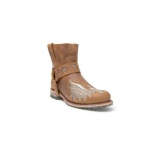 Compra en Noel Western Boots estos Botines Sendra Moda para mujer de cuero color camel del modelo 9942 con envíos gratis a la península clave 45297