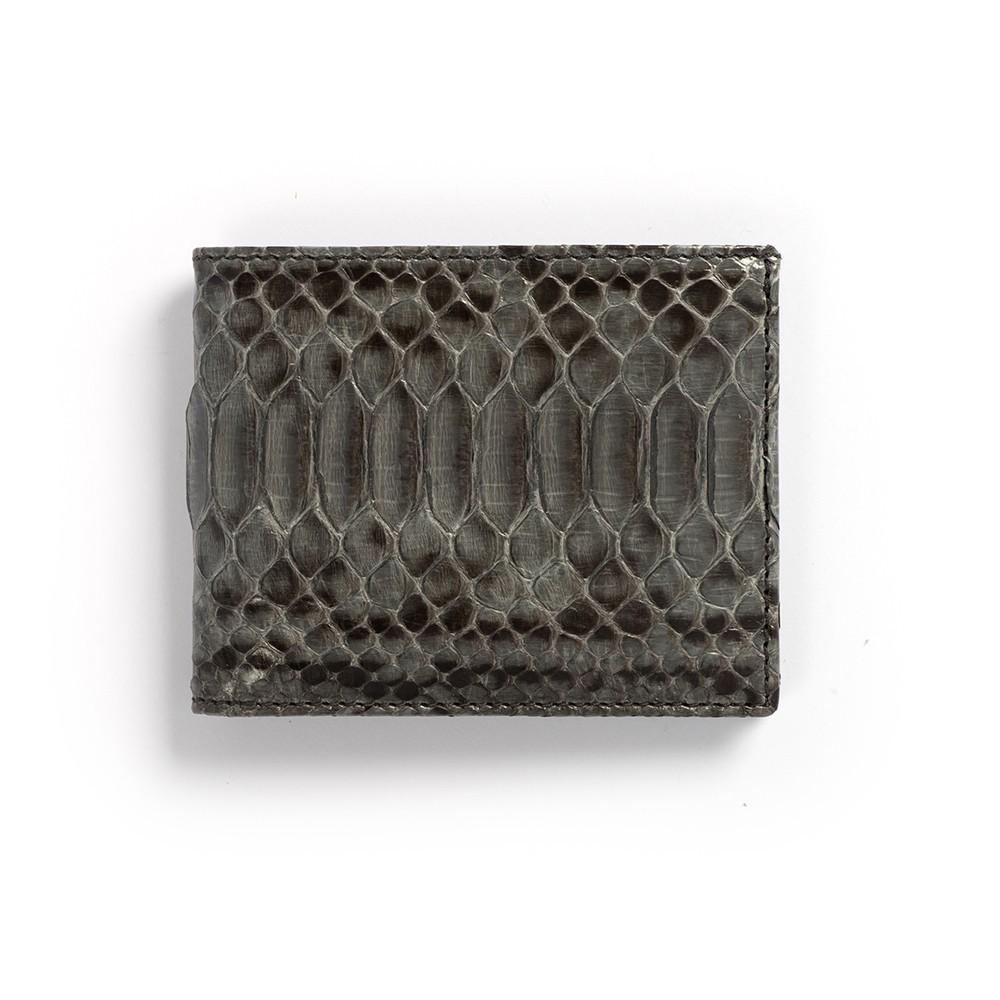 Compra en Noel Western Boots esta billetera de piel de serpiente gris modelo 769 con envíos gratis a la península clave 45790 - __[GALLERYITEM]__