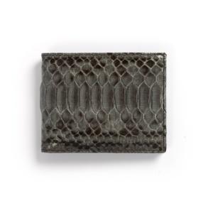 Compra en Noel Western Boots esta billetera de piel de serpiente gris modelo 769 con envíos gratis a la península clave 45790