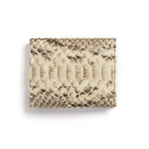 Compra en Noel Western Boots esta billetera de piel de serpiente beige modelo 769 con envíos gratis a la península clave 45791